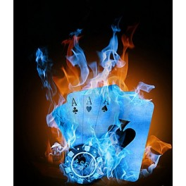 Poker Fire Blu
