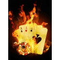 Poker Fire Giallo